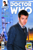 Doctor Who The Tenth Doctor Adventures #13 - SDCC 2015 Exclusive Variant Cover
